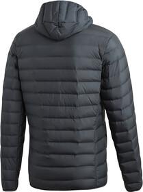 adidas TERREX Varilite Soft Veste à capuche en duvet Homme, carbon